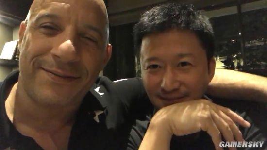 吴京和范迪塞尔亲密同框!二人是要合作《战狼3》还是速激?