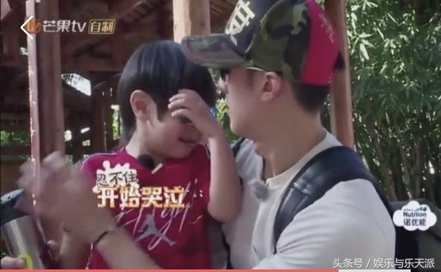 吴尊儿子Max节目中第一次哭,身体不适呕吐,吴尊节目都不想录了