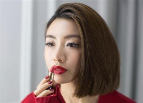 同样是取关毛晓彤陈翔分手了郑凯程晓也将可爱卷图片发型中发型长发图片