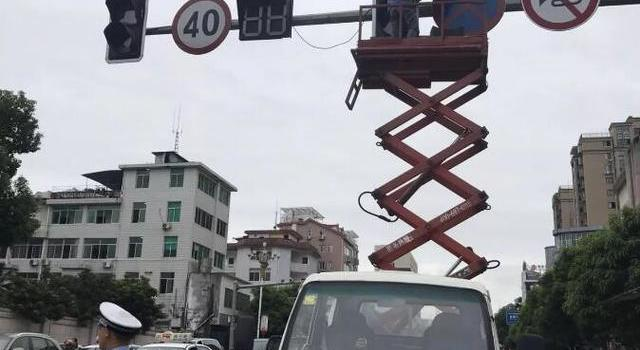 好消息!宁德市区15处红绿灯正进行升级改造