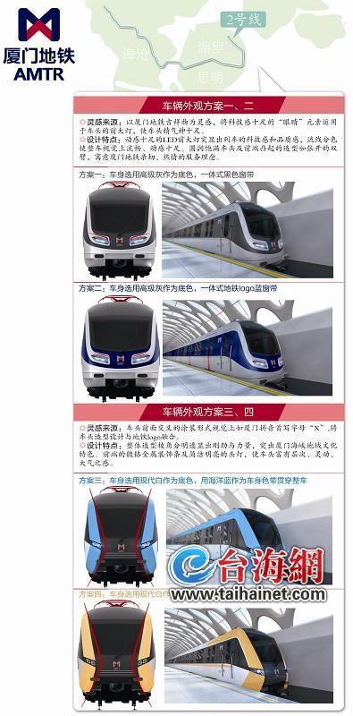 ca88亚洲城手机版【官方ca88亚洲城手机版下载】_即日起厦门地铁2号线车辆外观设计启动公众投票