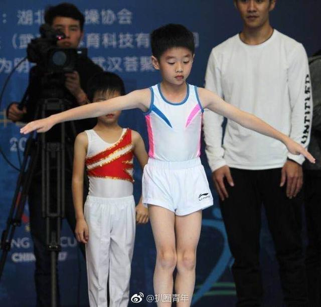 杨阳洋体操赛获奖 三大奥运冠军给他当教练 实力演绎体