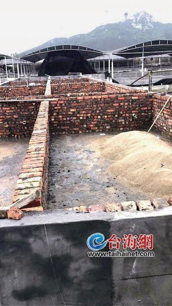 漳州市东山县养殖场刚建一半却被镇政府拆除