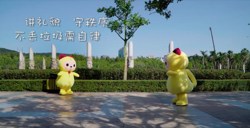"""第十届海峡两岸文博会举办 人气IP夏萌猫萌强势登""""鹭"""""""