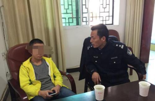 """13岁少年出走要""""拯救中国电竞"""",被民警15分钟找回"""