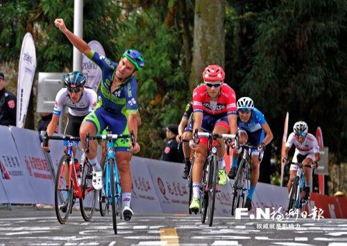 环福州·永泰国际公路自行车赛福州赛段 乌克兰车手成最大赢家