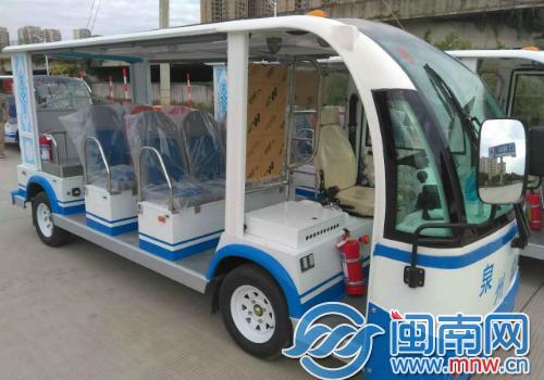 """泉州公交新增100辆""""小白""""电瓶车 预计下月投用"""