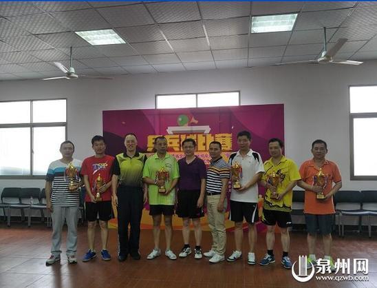 """泉州""""乒乓球王""""全民争霸赛开发区赛区成功举办"""