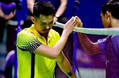 2017中国羽毛球公开赛 林丹遗憾出局