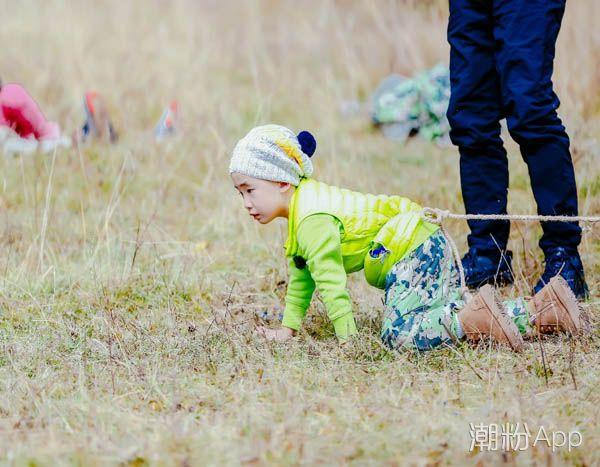 爸爸去哪儿5 Jasper爆发洪荒之力 帮助嗯哼完成拔河圈粉无数