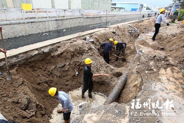 福州新厝河补水管道下周建成 配建步道将于明年建成