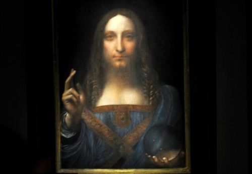 达芬奇真迹拍出4.5亿美元 为迄今最贵艺术品!