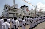 和平方舟医院船时隔七年再访坦桑尼亚