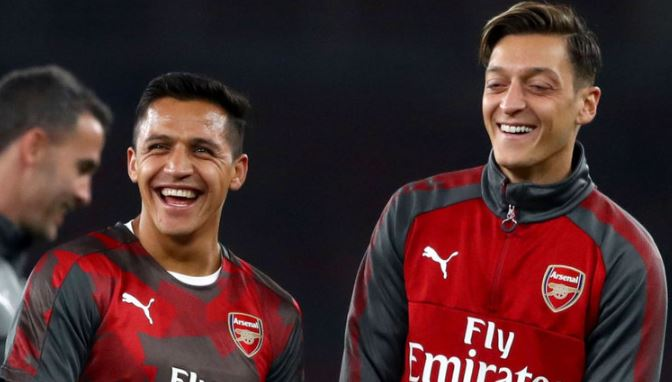 蒙雷亚尔:相信桑切斯和厄齐尔不会在1月离队