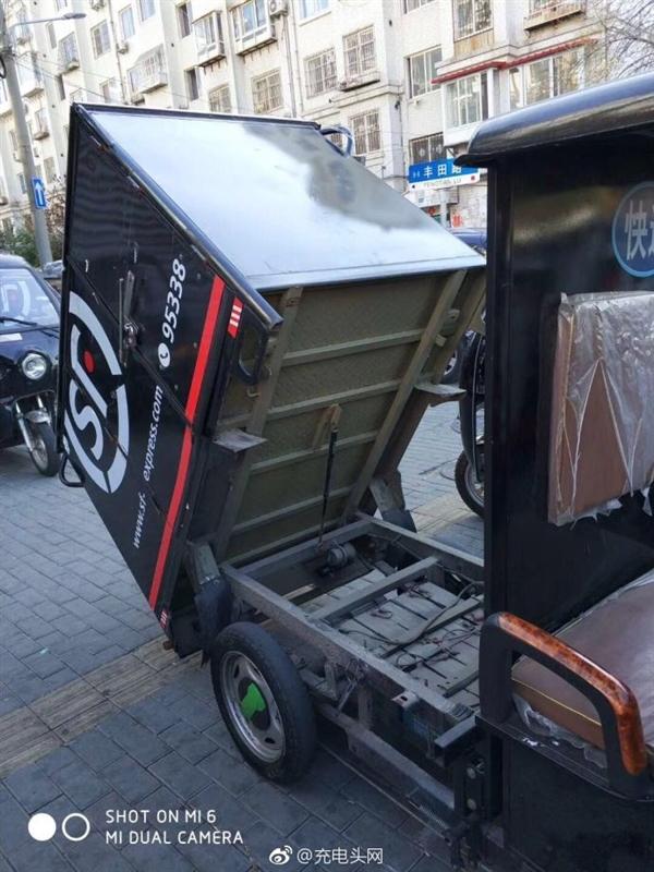 曝顺丰送货车升级石墨烯电池:充电15分钟行驶百公里