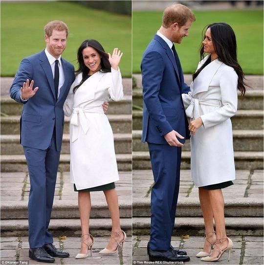英国哈里王子宣布订婚:未婚妻是美剧女演员,还曾离过婚