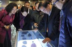 福州世遗博览会上陨石应用产业受关注