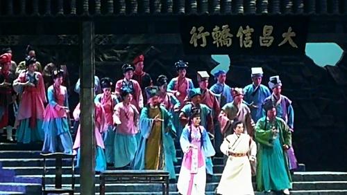 大型原创东路花鼓戏《麻乡约》在汉倾情上演