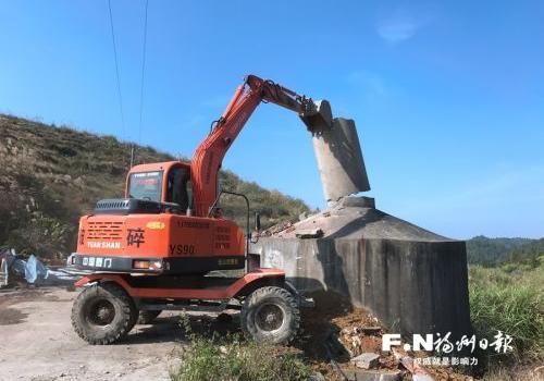 福州焖烧炉10日前全部拆除 7座简易生活垃圾填埋场同步启动治理