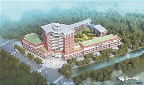 泉州市老年医院开建 弥补公立医疗老年专科医院空白