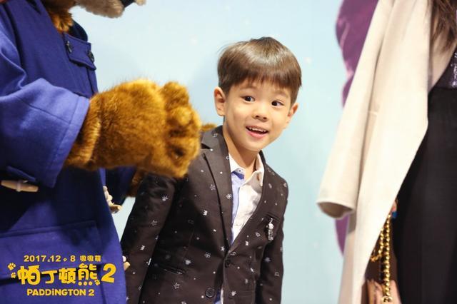 嗯哼新发型现身帕丁顿熊2首映 霍思燕现场表白杜江