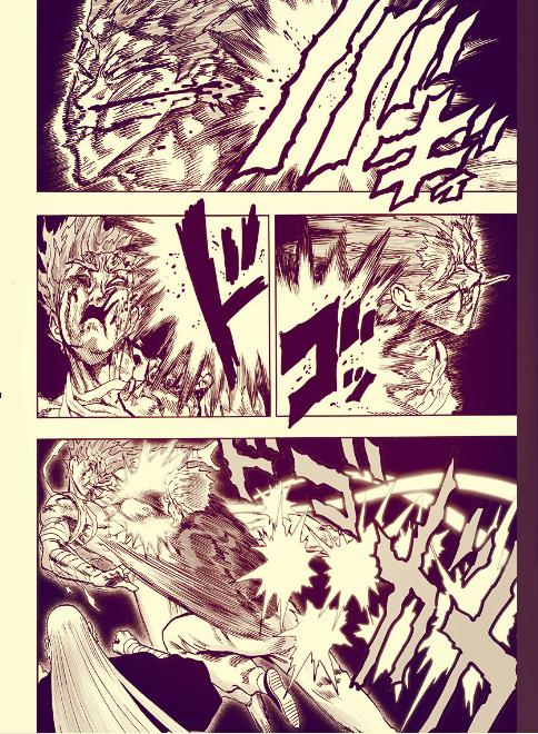 一拳超人125话:饿狼潜能爆发力战三大英雄,杰诺斯又被怪人吊打