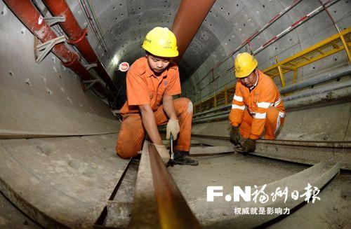 福州地铁2号线拿下最难施工段 穿越最深达33米乌龙江