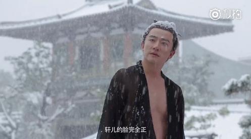 黄轩为《妖猫传》穿单衣在雪地站半小时,张天爱练舞到晕倒!