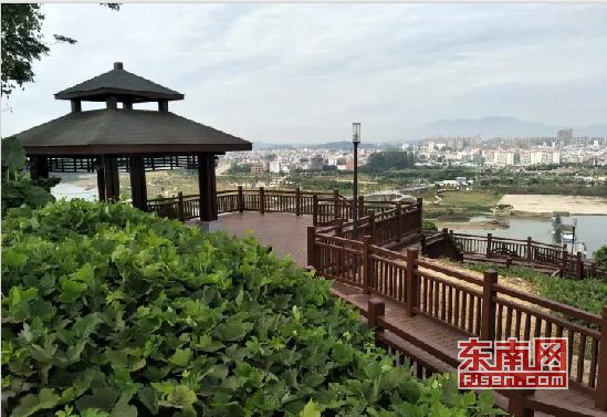漳州长泰文昌公园环山步道启用 增添市民休闲好去处