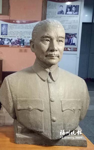 台湾艺术家首次向福州艺术馆捐雕塑