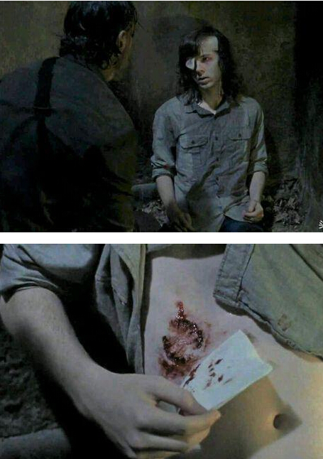 第八集被咬第九集预告领便当 行尸走肉第八季卡尔被剧组开除