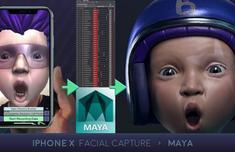 有人把iPhone X面部表情识别数据导入Maya 太精细令人震惊