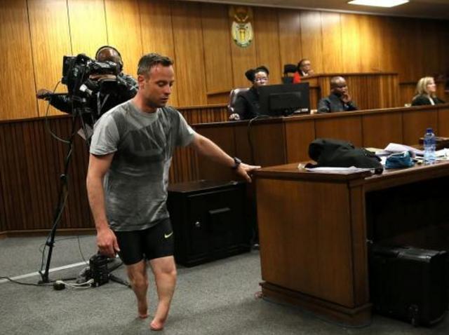 刀锋战士奥斯卡皮斯托瑞斯参与监狱斗殴 事后他被限制了起来