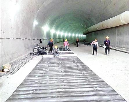 莆田仙游建首条行人可通行隧道 明年竣工