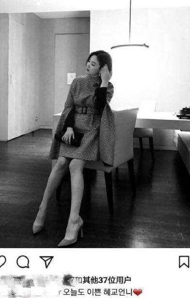 宋慧乔再次以短发亮相,穿格子裙又回到了颜值巅峰