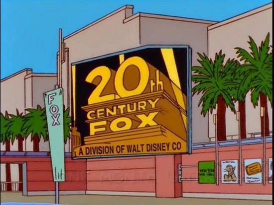 辛普森又现神预言 20年前就知迪士尼收购福克斯!