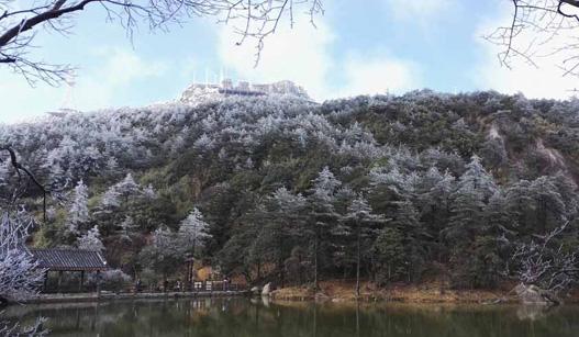 德化九仙山迎来今冬首场雾凇,美爆了!