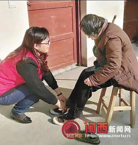 龙岩上杭县义工协会开展关爱孤寡老人慰问活动