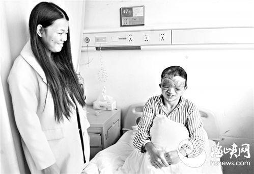 闽清小伙患神经纤维瘤 靠触觉生活22年手术后顺利出院