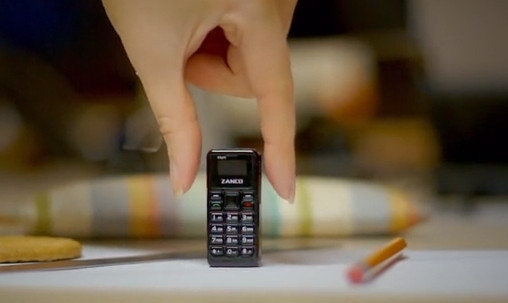 0.49寸OLED屏!这就是全球最小手机:单手之王