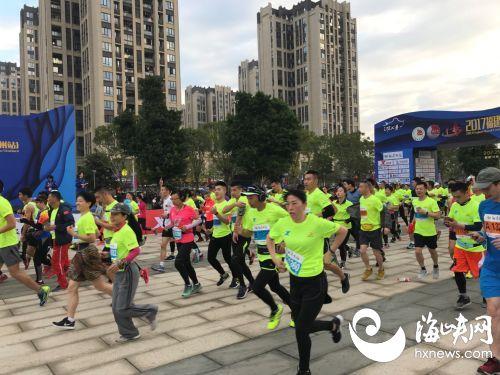 快讯!福州国际马拉松开跑了!海峡网正在直播!