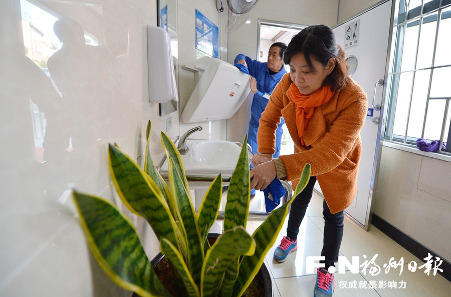 """""""鼓楼模式""""推动福州市形成公厕管理新格局"""