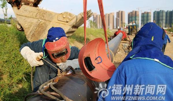 福州市马尾区亭江下月全线通管道天然气