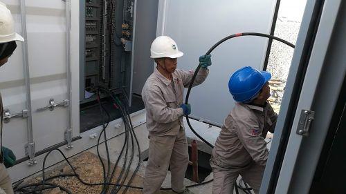 福州滨海新区松下港有序推进港口岸电项目 电能替代促环保
