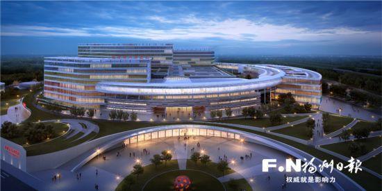 晋安区福建省儿童医院动建 按三甲医院标准建设
