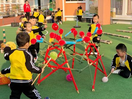 竹与木打造乡镇级幼儿园特色标杆 海峡网记者探访闽侯鸿尾乡中心幼儿园