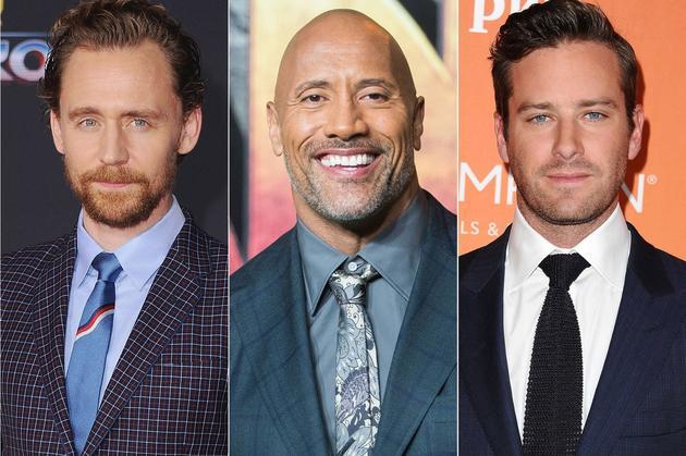 多名男星将黑装出席金球奖 声援好莱坞女权运动