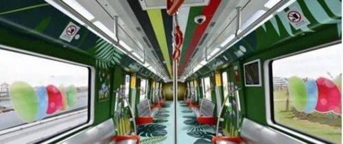 厦门地铁1号线正式开通 车站像闽南大厝
