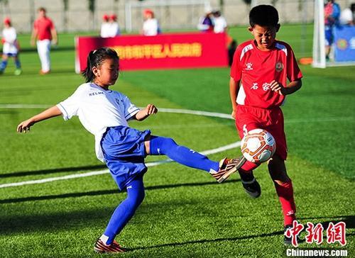 教育部:2万所足球特色学校建设5年任务提前完成