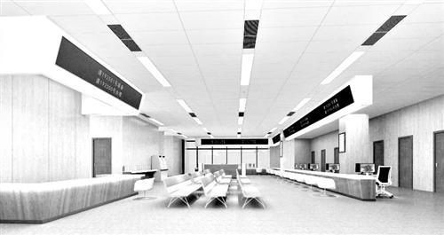 福州晋安区市民服务中心1月2日试运行